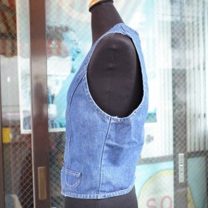 画像3: USED 「Wrangler」DenimVest Boy's L