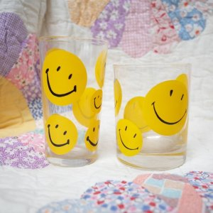 "画像2: Dead Stock 60'sVintage ""Smile"" glass (2Design)"