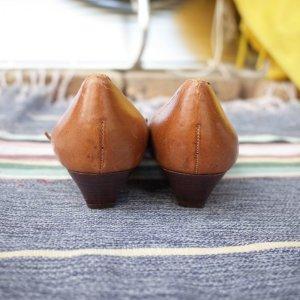 画像4: FromBrazil real  leather pumps (brown)
