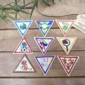 Vintage BOY SCOUT ワッペン(9Design)