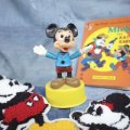 70'sVintage「Mickey」Dancing Push Toy