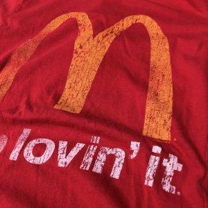 """画像2: ★★20%OFF★★USED """"McDonald's"""" T- shirt(red)"""