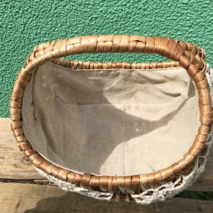 画像3: Cotton DoilyまんまるBasket(brown)