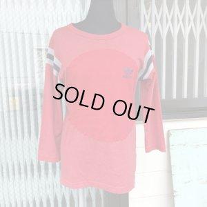 """画像2: 「SOLY」""""adidas""""まるまるパッチ Long T-shirt(red)"""