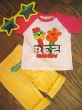 PEZ CANDY Tシャツ (T80,90/ホワイト×ピンク)