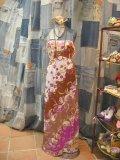 Vintageエミリオプッチ キャミドレス(パープルxブラウン)