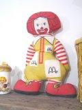 70's vintage McDonald ロナルド ピロードール