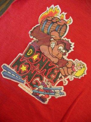 画像2: 80's Donkey Kong Tシャツ(boy's age 5~6)