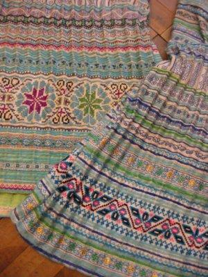 画像2: モン族 刺繍キャミ(2desigh)