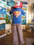 70's Super man  Tシャツ(Age2-4)